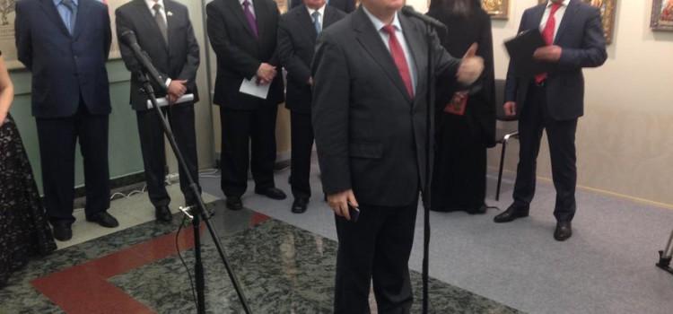 С.П.Обухов выступил на открытии в Госдуме выставки «Лики России. От иконы до живописи»