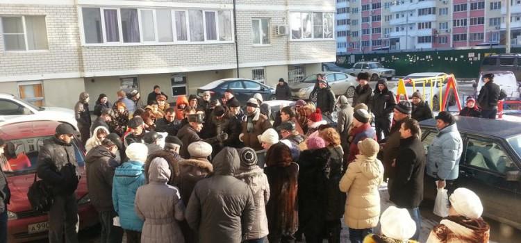 По инициативе С.П. Обухова состоялась встреча администрации Карасунского внутригородского округа Краснодара с жителями