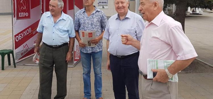 Сергей Обухов провел очередные встречи с избирателями в Краснодаре