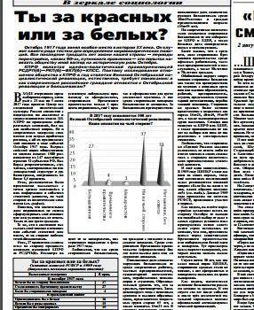 «Ты за красных или за белых?». Статья С.П. Обухова в газете «Правда»