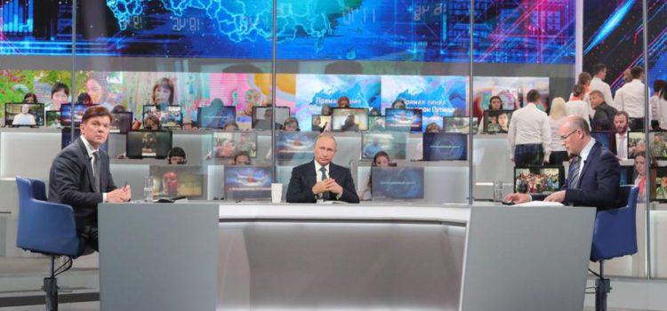Сергей Обухов: «Прямая линия» Путина — сеанс коллективной «психотерапии»