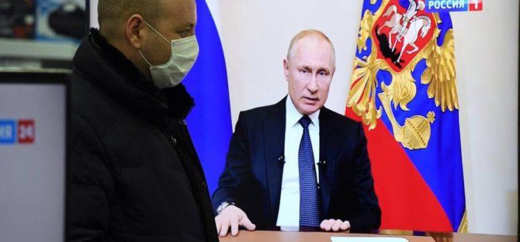 Сергей Обухов про внеочередное Послание президента: «Путин и коронавирус»