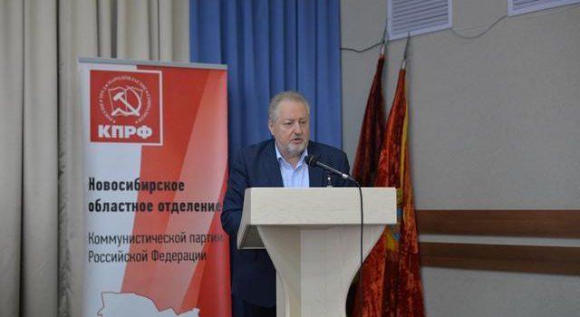 С.П.Обухов в Новосибирске: «Красный мэр» Локоть достоин включения в состав обновленного Госсовета