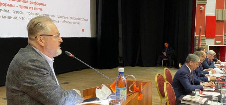 Сергей Обухов: КПРФ не  «приживалка» при партии власти и не «пушечное мясо» для улицы Навального