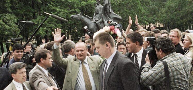 Сергей Обухов — РИА Новости про заявления Жириновского о выборах 1996 года